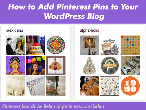 How to Add Pinterest Pins to Your WordPress Blog